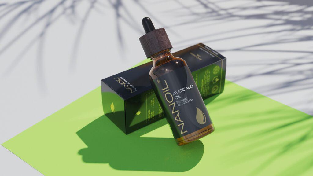 Nanoil Avocadoöl für gesunde Haut